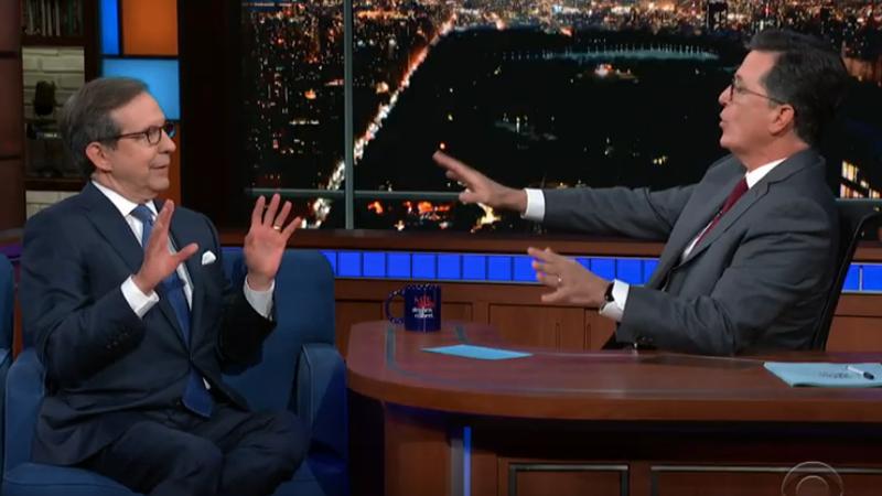 Chris Wallace, Stephen Colbert