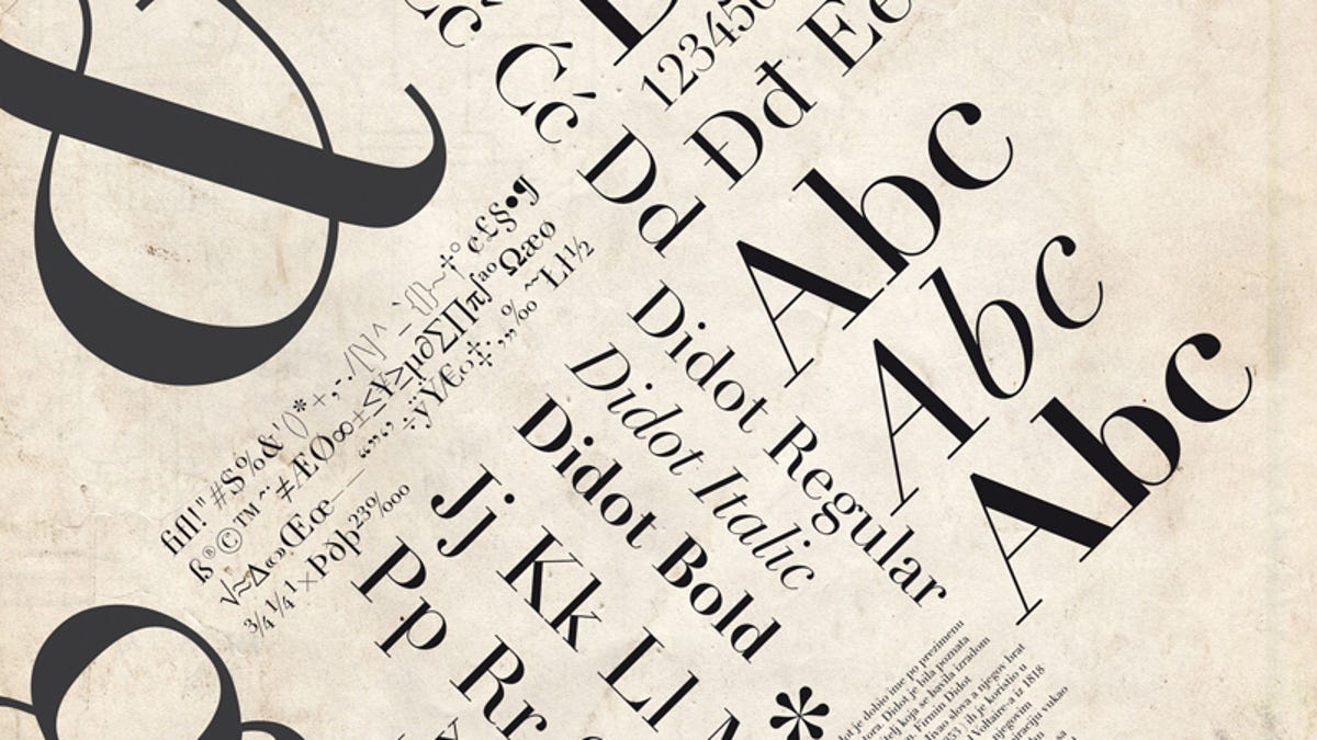 The Fonts That Come With Your Computer Are Older Than You Ever Thought