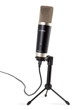 m audio session music producer usb mic with on board headphone jack. Black Bedroom Furniture Sets. Home Design Ideas