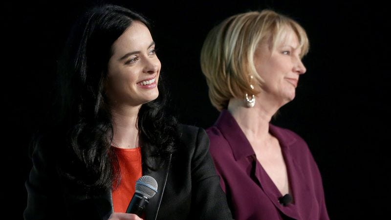 Krysten Ritter, Melissa Rosenberg (Photo: Cindy Ord/Getty Images)