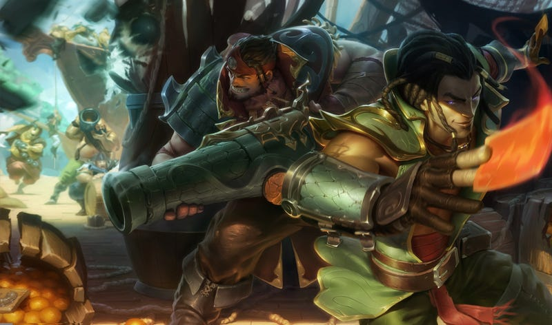 Illustration for article titled League Of Legends' New Game Mode Lets You Take Monsters Into The Fight