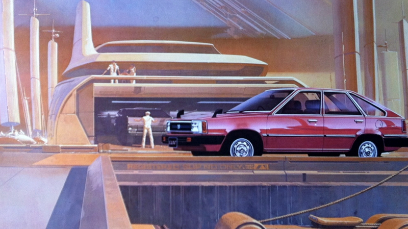 Image from an amazing Sid Meade Honda brochure