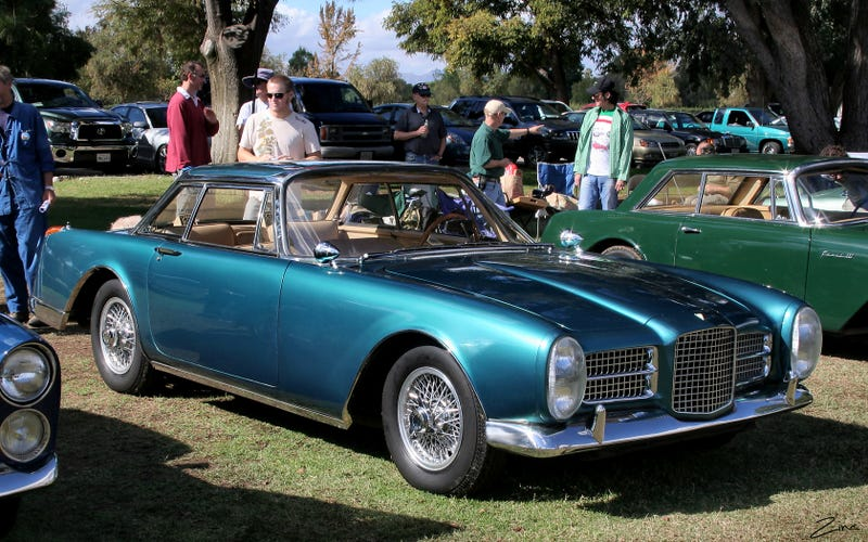 Illustration for article titled Just had a dream that my dad bought a Facel Vega