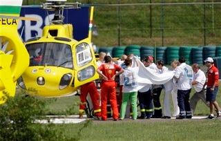 Illustration for article titled Felipe Massa In Intensive Care After Brutal Hungarian GP Crash!