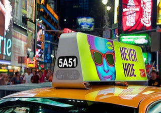 Illustration for article titled New York City Taxis Updating Their Displays To Look Like iMacs