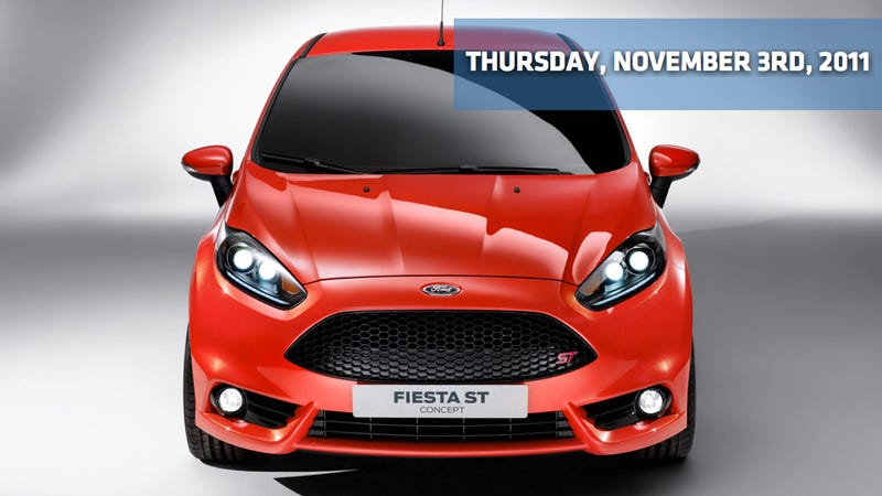 Illustration for article titled Ford Fiesta ST Five-Door, Tesla beats a low bar, and Chevy doesn't look a day over 150