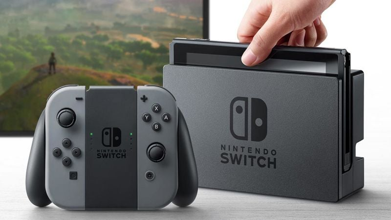 Nintendo Switch off to solid sales start in UK