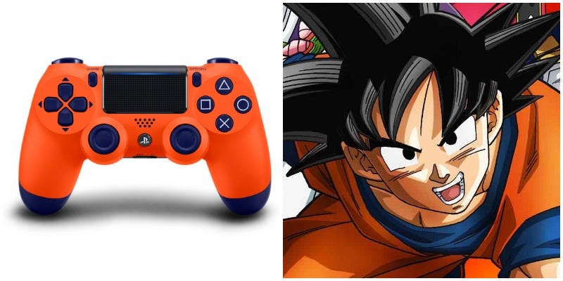 Illustration for article titled This PS4 Controller's Color Is Goku