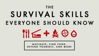 Illustration for article titled The Wilderness Survival Skills Everyone Should Know