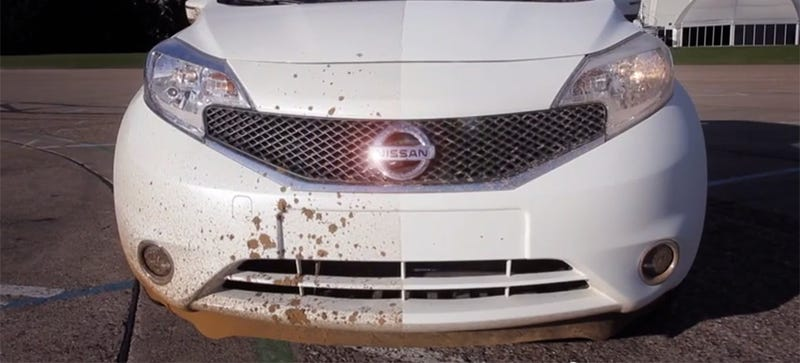 Illustration for article titled Nissan's Ingenious Plan To Eliminate Car Washes Just Might Work