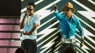 Jay Z and Pharrell Williams perform at the 2014 Coachella Valley Music and Arts Festival in April.Christopher Polk/Getty Images
