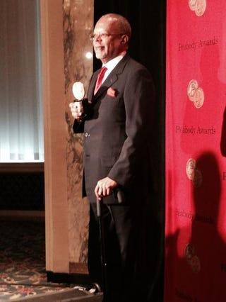 Henry Louis Gates Jr. at the Peabody Awards May 19, 2014, at New York City's Waldorf Astoria.