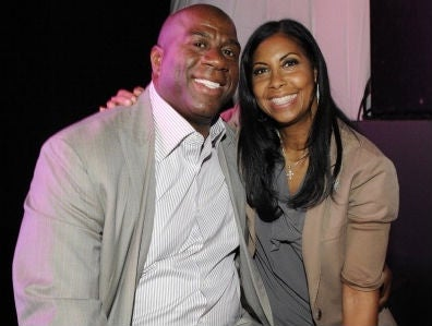 Magic and Cookie Johnson 20 years later (Getty)