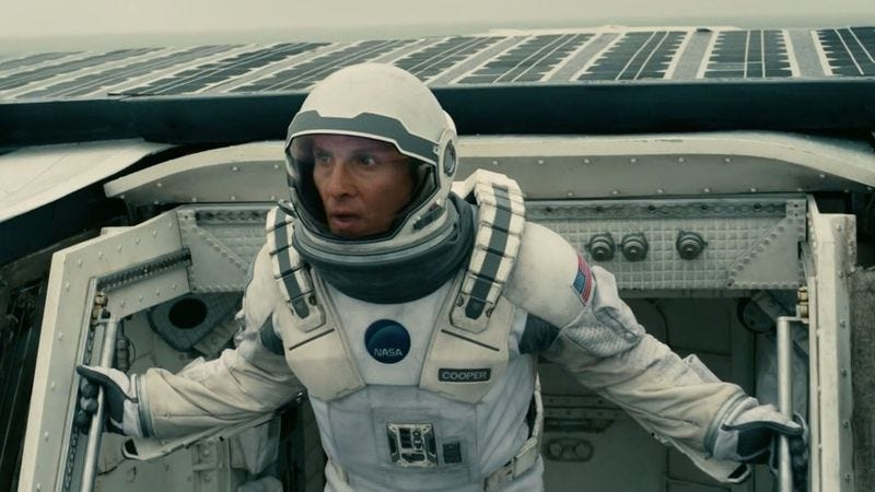 Illustration for article titled Some theater owners aren't happy about Interstellar's advance release