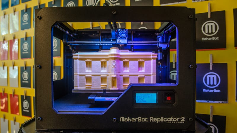 Illustration for article titled The MakerBot Replicator 2 Prints A Bigger, More Detailed Chunk of Your Creative Genius