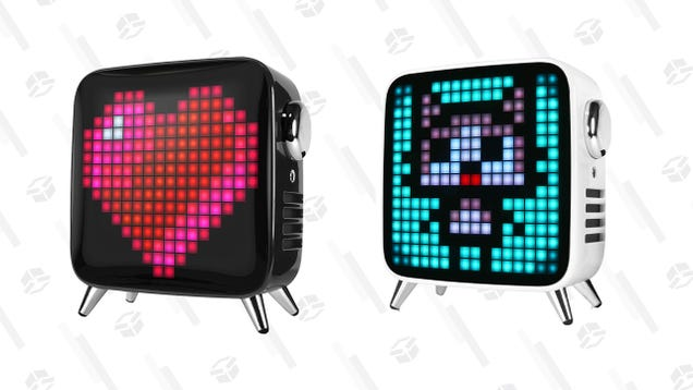 Bring Some Flair To Your Desk With up To 32% off a Divoom Customizable Pixel Art Speaker