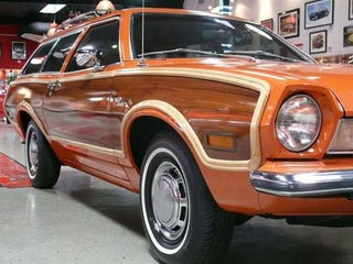 Illustration for article titled Nice Price Or Crack Pipe: Restored 1973 Pinto Squire Wagon For Nearly 20 Grand?