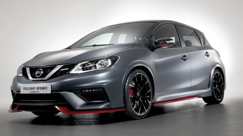 Nissan Pulsar Nismo Concept: A 250 HP Return To Hot Hatch ...