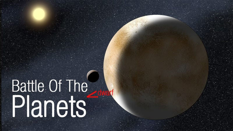 Illustration for article titled Size Matters When You're The Former Planet Pluto