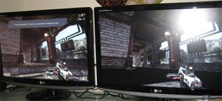 """Illustration for article titled HYDRA System Lets """"Vastly Different"""" Video Cards Work, Play Together"""