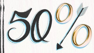 Illustration for article titled That 50 Percent Divorce Statistic Hasn't Been True For a Long Time
