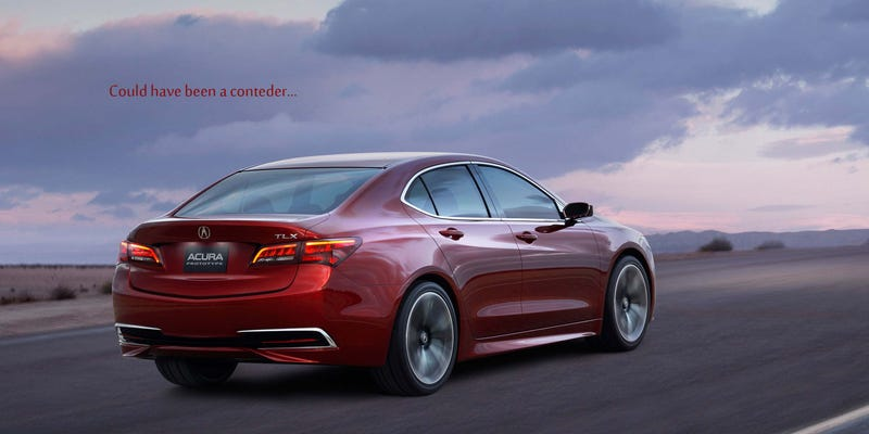 Illustration for article titled Acura TLX...is it DOA?