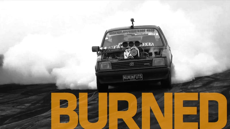 Illustration for article titled Does This Insane Burnout Merit A Lifetime Ban?