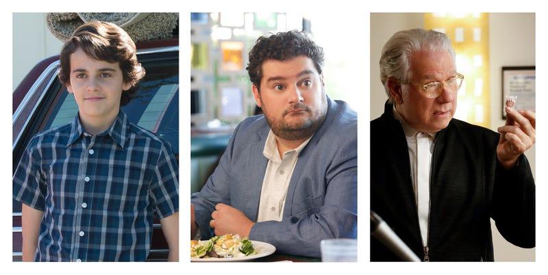 Jack Dylan Grazer (left), Bobby Moynihan, John Larroquette (Photo: Neil Jacobs-Robert Voets/CBS)