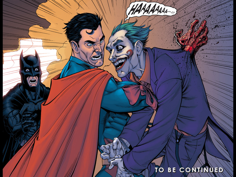 Resultado de imagem para Joker Injustice death