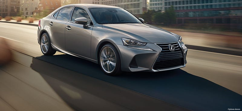 """Illustration for article titled """"The Toyota Corolla and Lexus IS ride on the same frame"""""""