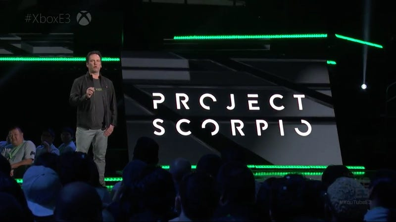 Illustration for article titled Microsoft Announces Project Scorpio, 'The Most Powerful Console Ever'