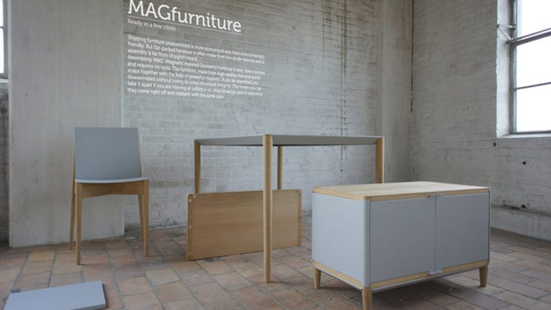 The Ikea Nightmare Is Over Magnetic Flat Pack Furniture Is Here