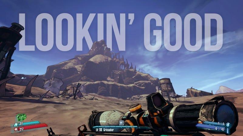 Illustration for article titled Borderlands 2's Killer PC Version Gives Us A Taste Of The Future