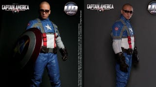 The Extremely Subtle Captain America Motorcycle Suit For The Fan