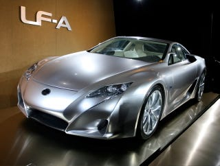 Illustration for article titled Detroit Auto Show: Latest Toyota LF-A Concept