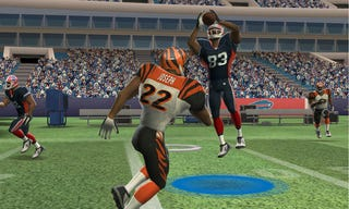Illustration for article titled Madden NFL 3DS Screens