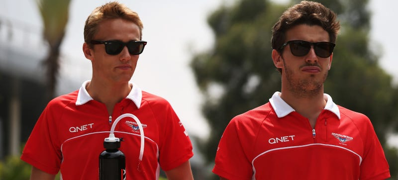 Illustration for article titled Max Chilton Dedicates First Indy Lights Pole To F1 Teammate Bianchi