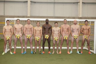 Illustration for article titled West Ham Players Get Naked To Remind You To Feel On Your Balls