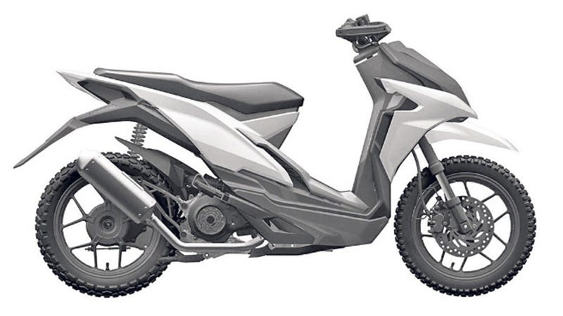 Illustration for article titled Where Would You Ride Honda's Adventure Scooter?