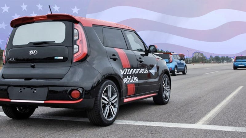 kia testing autonomous cars on american roads soon selling them by 2030. Black Bedroom Furniture Sets. Home Design Ideas