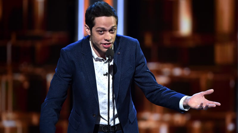"""Illustration for article titled Pete Davidson says hisSNLaudition to play Donald Trump was """"embarrassing as fuck"""""""