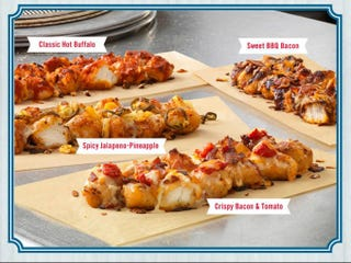 Illustration for article titled Dominos is Now Selling a Pizza With a Fried Chicken Crust
