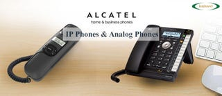 Illustration for article titled Alcatel Phones in India – IP and Analog Phones