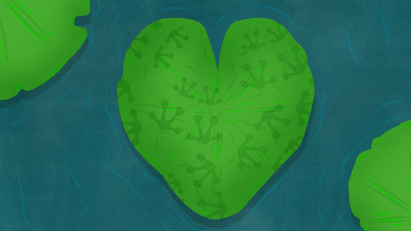 Illustration for article titled Lily Pads: Why Making Someone a Jump-Off Will Never Fill the Emotional Void of a Breakup