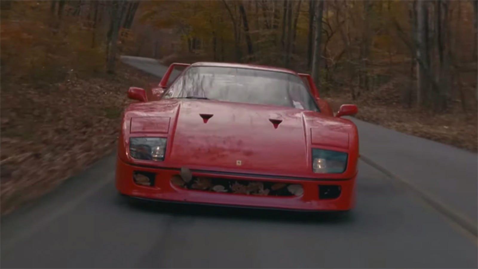 Never Pass an Opportunity to Hear a Ferrari F40