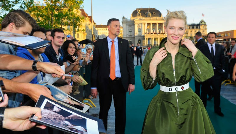 Illustration for article titled Caption This Photo of the Always Immaculate Cate Blanchett