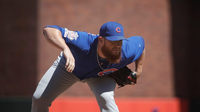 Illustration for article titled The Cubs' Bullpen Is Currently Held Together With Scotch Tape And Sticky Tack