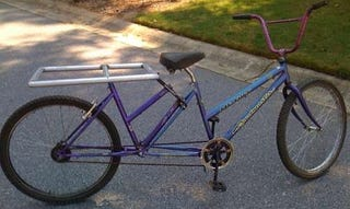 Illustration for article titled Convert Your Bike into a Cargo Bike with an Old Bike Frame
