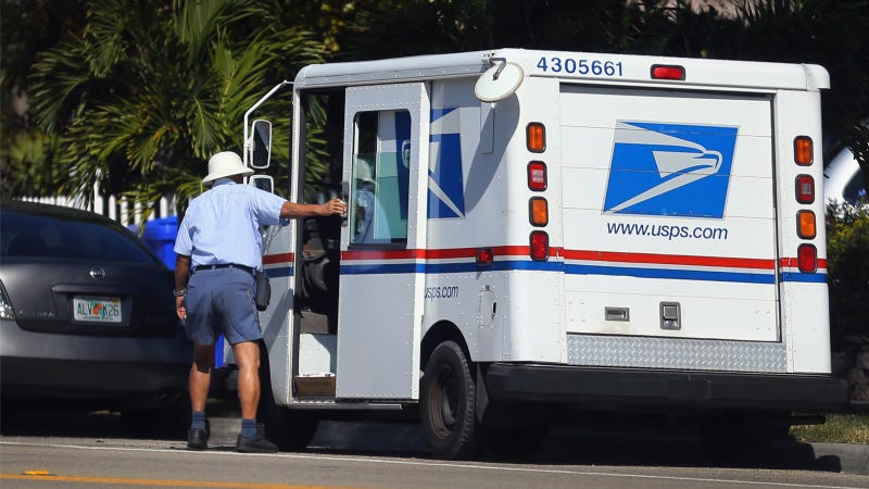 Illustration for article titled U.S. Postal Service: We Don't Have To Obey Traffic Laws!