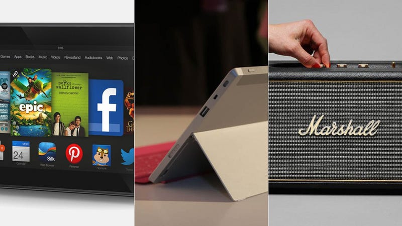 Illustration for article titled Now Available: Marshall Mini Speaker, Kindle Fire HD, Surface 2 & More